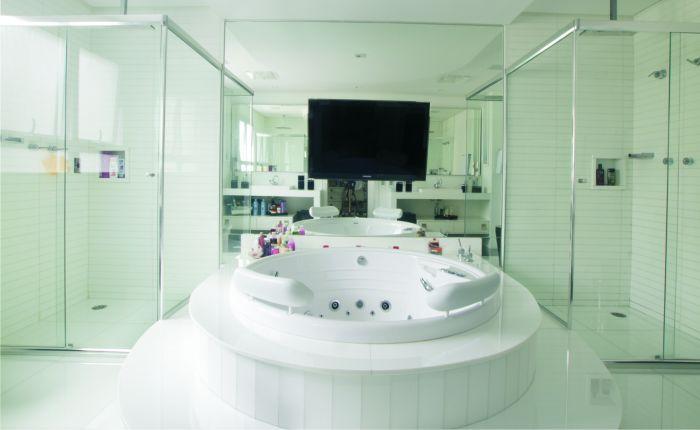 Banheiro de Casal como SPA Privativo