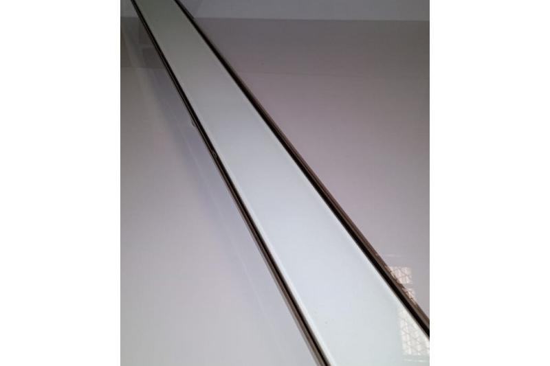 Foto 1 de Ralo In Line - Vidro Temperado Branco
