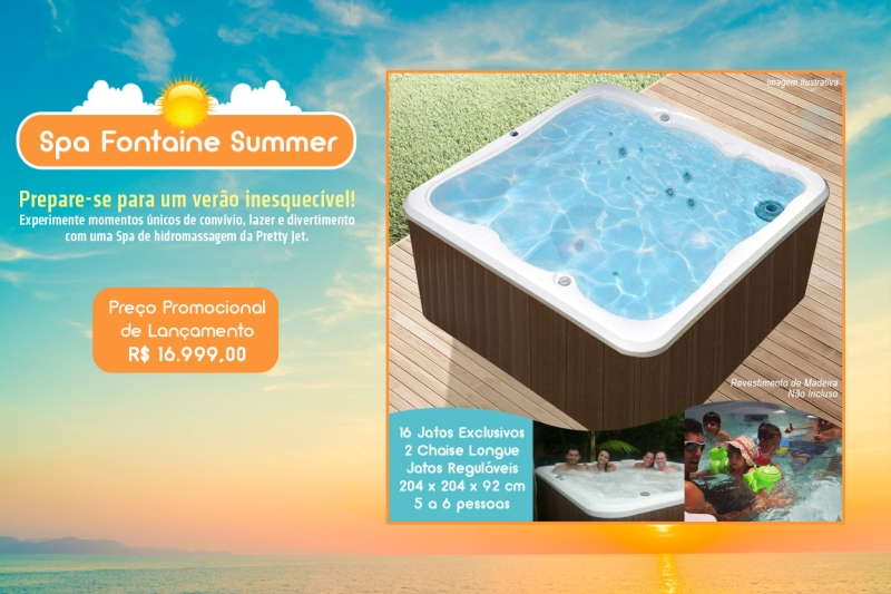 Spa Fontaine Summer